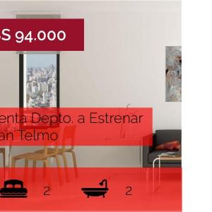 DEPARTAMENTO A ESTRENAR | SAN TELMO |SUM,PILETA Y COCHERA- IMPERDIBLE!!!